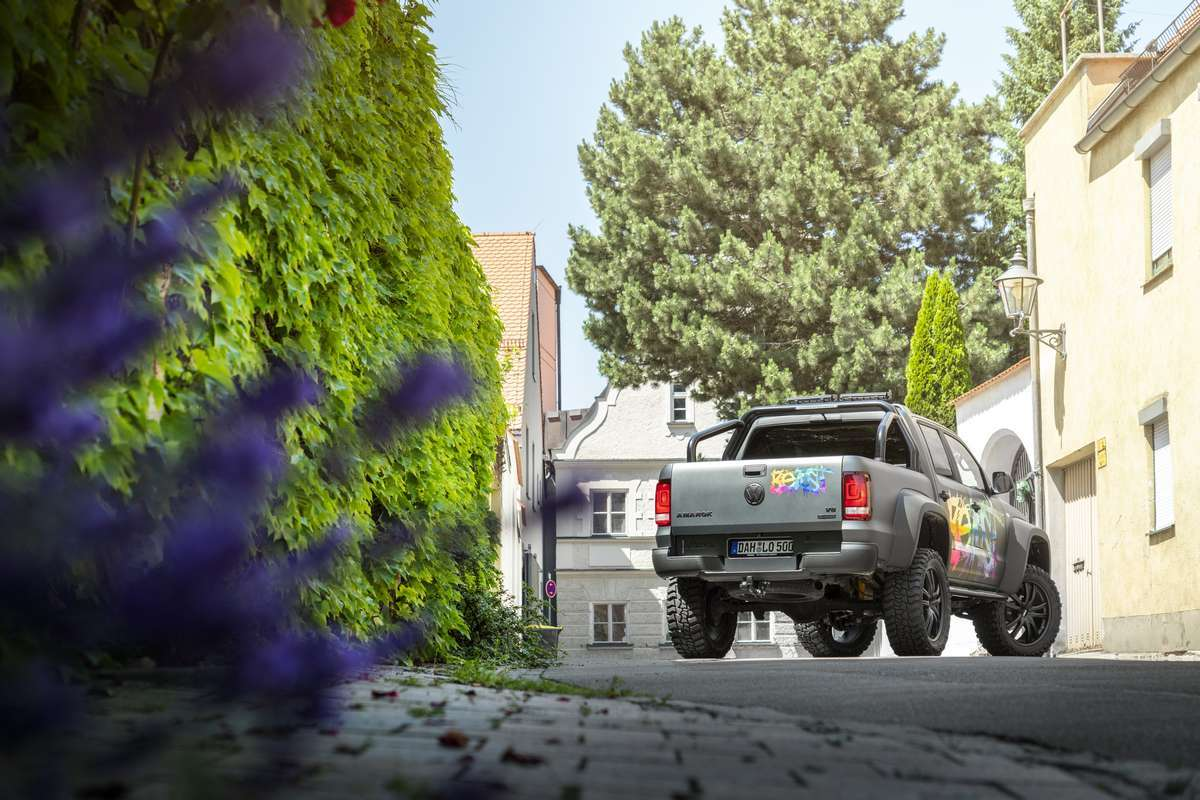 VW Amarok Fahrwerk Höherlegung von delta4x4 Offroad Tuning