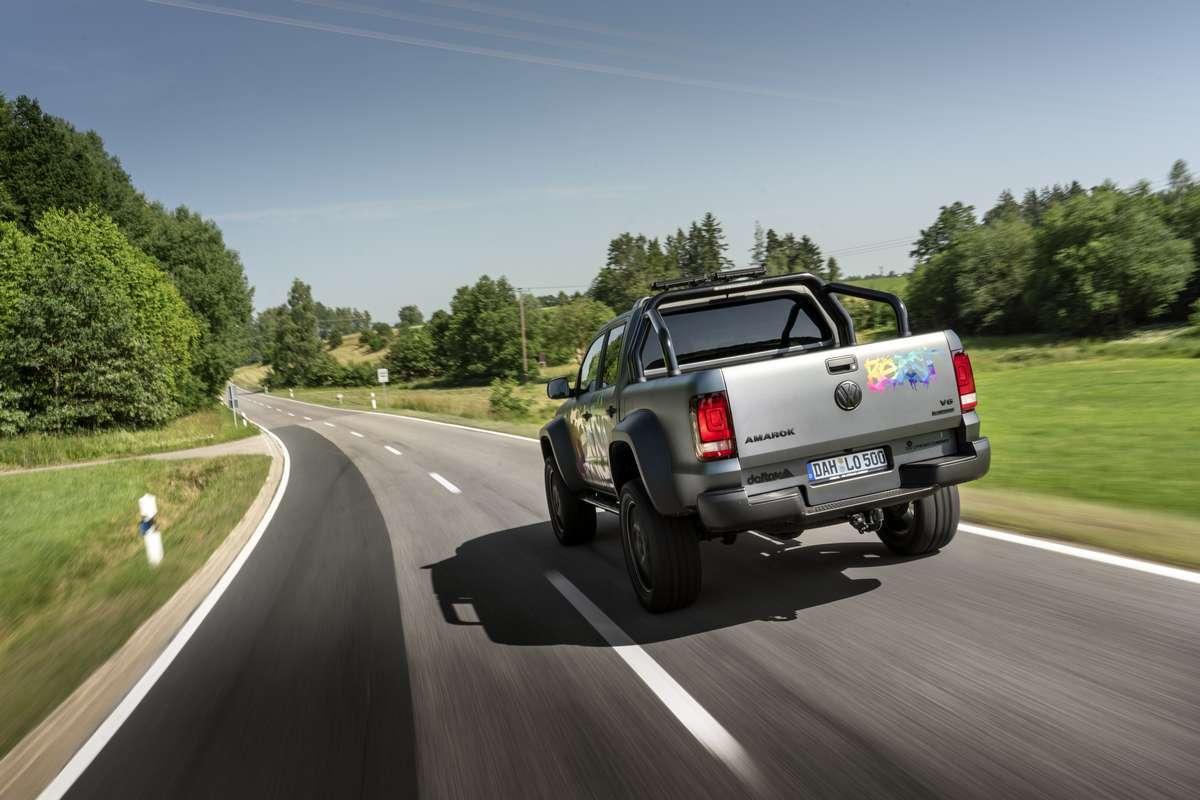 VW Amarok Tachoangleichung von delta4x4 Offroad Tuning