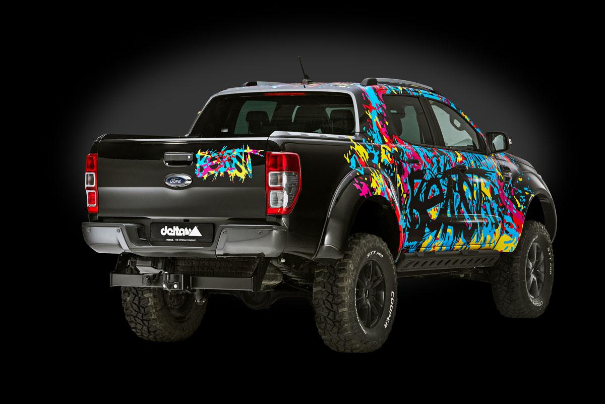 Ford Ranger Beast BACK